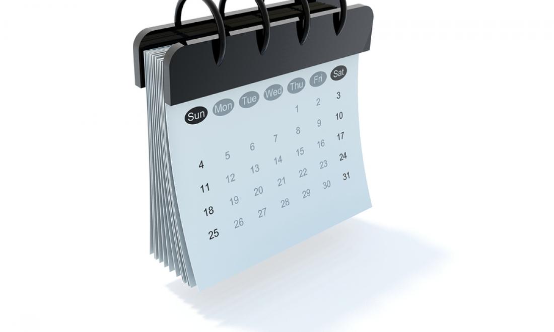 Events Calendar 2018